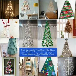 15-Gorgeously-Creative-Christmas-Trees-that-aren't-Actually-Trees-