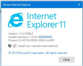 internet explorer 11 windows 7